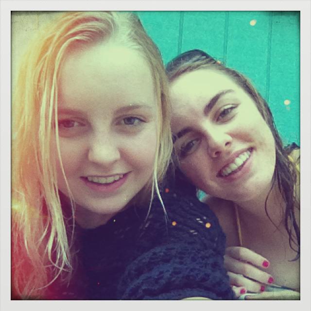 Erica and Peta