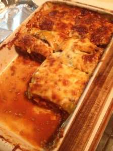 grainfree lasagna