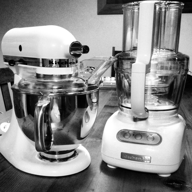 Brand new KitchenAid appliances from Mum and Dad! They know what I love to do.