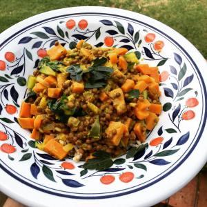 Vegan Lentil Dhal