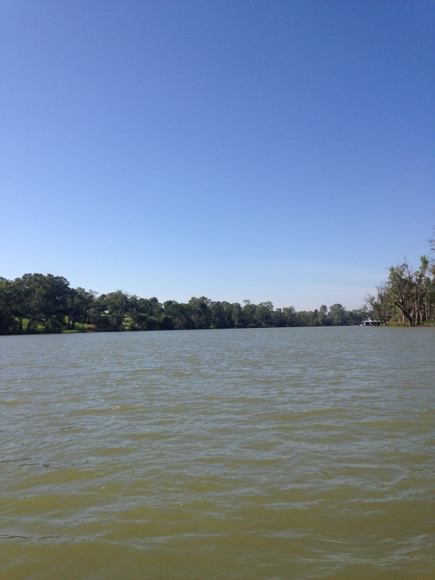 A pic of the might Murray River a.k.a. home.